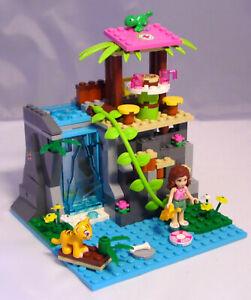 Lego-Friends-41033-Einsatz-am-Dschungel-Wasserfall-Olivia-Tiger-Camelion-16