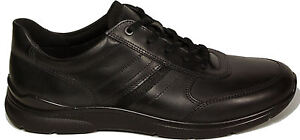 93782cc71930 Image is loading ECCO-mens-Shoes-model-IRVING-Lace-ups-BLACK-