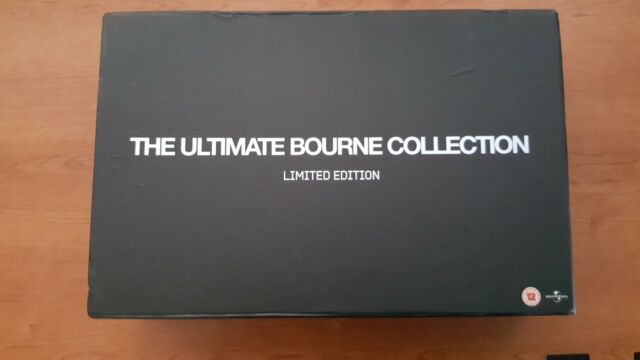 The Ultimate Bourne Collection - Limited Edition (Bourne Identity/Supremacy/Ulti