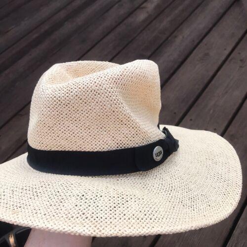 Ugg Paper Straw Wide Brimmed Hat Womens