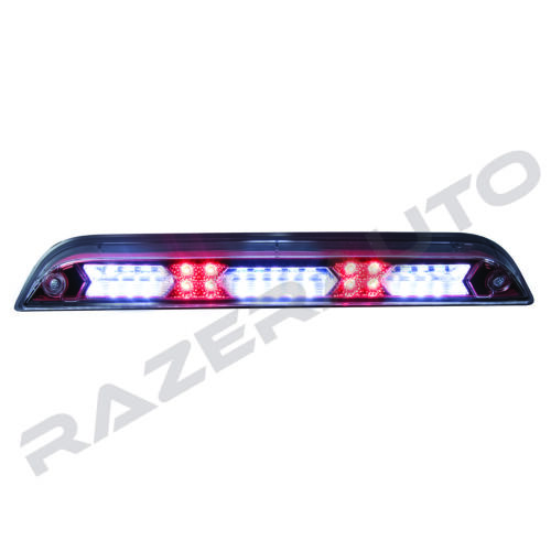 Red Clear Lens LED 3rd Brake Cargo Tail light Replacement for 15-18 Ford F150