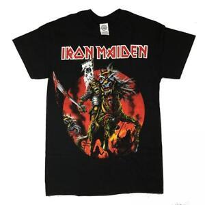 Camiseta-Rock-Chico-OFICIAL-Iron-Maiden-SAMURAI-EDDIE-Rock-Men-T-Shirt
