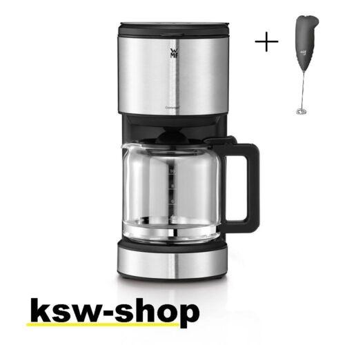 WMF Stelio Aroma Kaffeemaschine Glas für 10 Tassen 0412150011GRATISMilchschäumer