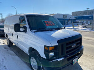 2009 Ford E-250 Cargo Van - SAFETIED!!  GREAT WORK TRUCK!!