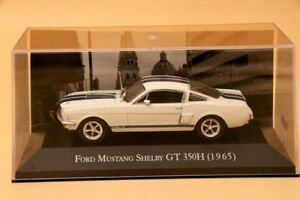 1-43-Altaya-Ford-Mustang-Shelby-GT-350H-1965-Car-Diecast-Models-Collection-White