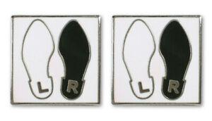 """Vintage ACME Studio ANDY WARHOL """"Dance Diagram"""" Earrings NEW"""