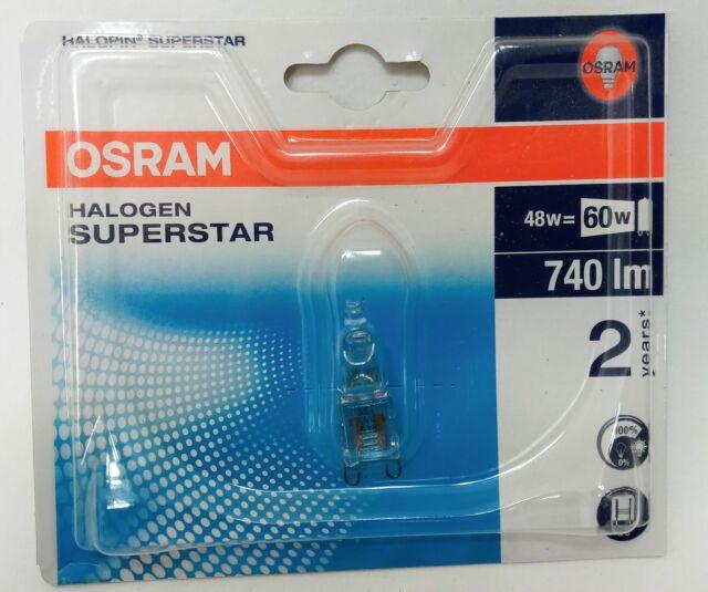 OSRAM 66748 Halopin Eco Superstar G9 48w 230v -