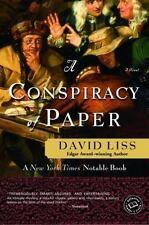 A Conspiracy of Paper: A Novel (Ballantine Reader's Circle), David Liss, 0804119