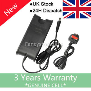 Dell-Inspiron-15-3000-5000-7000-Series-65w-Laptop-Power-Supply-Charger-UK-Cord-F