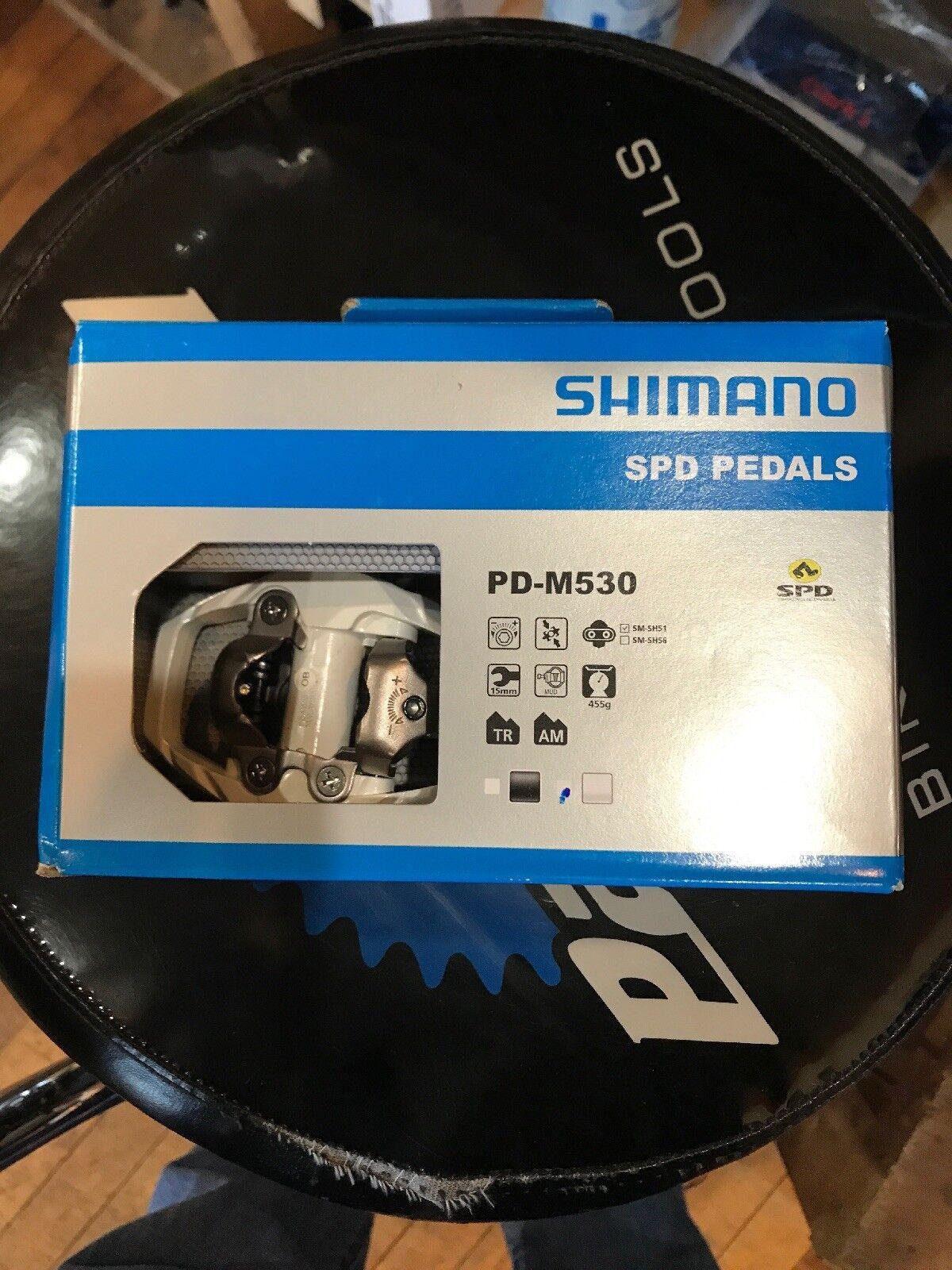 Shimano SPD Clip In Pedals