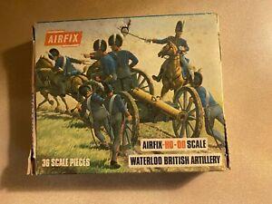 Airfix-Napoleonic-Waterloo-British-Artillery-box-S46-COMPLETE-SET-36-pieces
