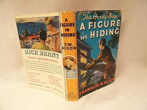 Hardy-Boys-Number-16-A-Figure-In-Hiding-Book-With-Dust-Jacket