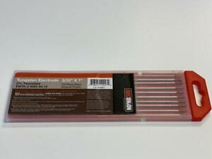 """2/% Thoriated TIG Welding Tungsten Electrodes 3//32"""" Free Quick-Ship Red,WT20"""
