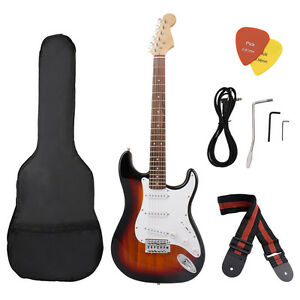 Electric Guitar Including Strap Guitar Case Pick Strings Whammy Bar