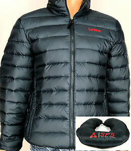 Turbine-Men-039-s-Down-Jacket-Packable-Travel-Pillow-Ocean-Navy-Blue
