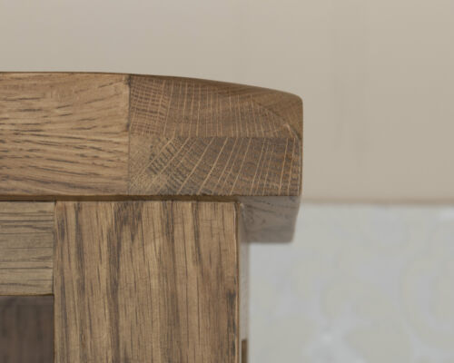 Solid Oak 3 Drawer Bedside Table In Dorset Country