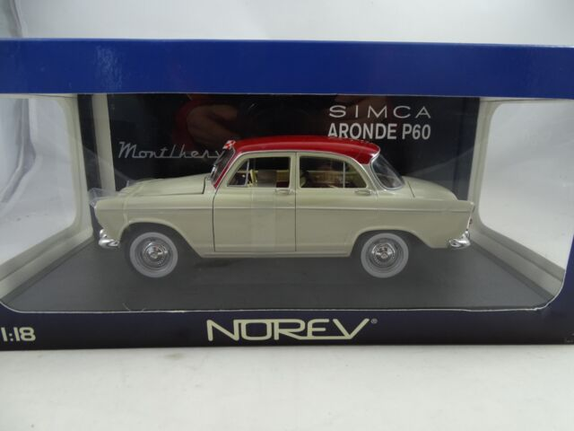 1:18 Norev #185720 Simca P60 Monthlery Beige/Red - Rarity §