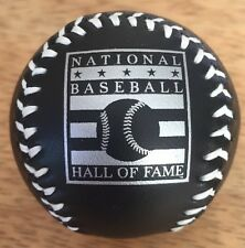 Black Mini MLB Hall Of Fame Baseball Un-Signed Ball Cooperstown NY Very Rare ⚾️