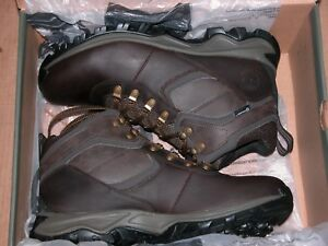 4f857d16e6f Details about Timberland Mt. Maddsen Waterproof Hiking Boots Men's Dark  Brown TB02730R - New