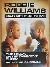 ROBBIE WILLIAMS  2016  ALBUM  - orig.Concert Poster - Konzert Plakat  A1 NEU