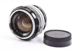 Nikon-Nikkor-S-Auto-50mm-f-1-4-Non-Ai-Prime-Lens-with-Rear-Cap-PLEASE-READ-RA13