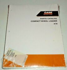 Case 21e Compact Wheel Loader Parts Catalog Manual Book Original 1105 Nos New