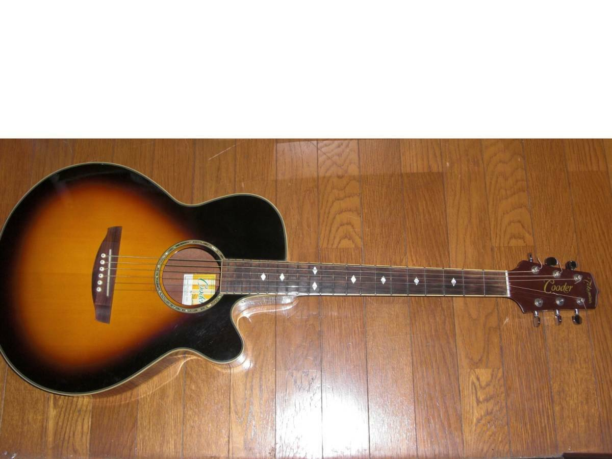Cooder By TAKAMINE TCP-400 TBS JAPAN beautiful rare EMS F S