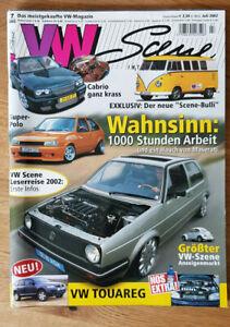 VW Golf Scene Nr. 7 / 02 - Juli - Deutschland - VW Golf Scene Nr. 7 / 02 - Juli - Deutschland