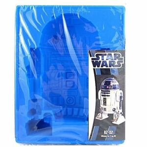 OFFICIAL STAR WARS R2 D2 R2D2 SILICON ICE CUBE TRAY MOULD NEW AND SEALED