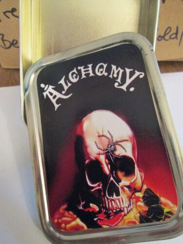 "Zigaretten Metall Dose 8 cm x 11 cm /"" Alachamy../"""