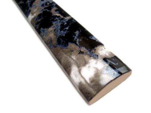 Fliesenbordüren 15x2,5cm Fliesenbordüre Bäder Bordüren BD747 marmoriert glänzend