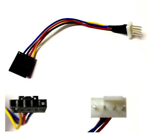 Dell-Adapter-5Pin-auf-4Pin-PWM-CPU-Kuhler-Cooler-Lufter-Fan-Kabel-cable
