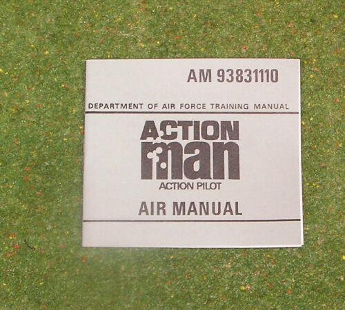VINTAGE ACTION MAN 40th ACTION PILOT AIR MANUAL AM 93831110