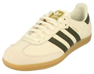 Détails sur Adidas ORIGINALS SAMBA OG Femme Homme Chaussures Baskets, BB8002 gaufre blanc cassé afficher le titre d'origine