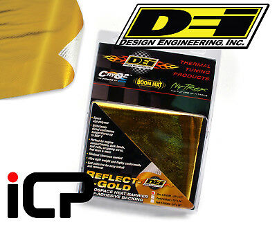 "DEI 010393 Reflect A Gold Heat Barrier Shielding 24/"" x 24/"" Sheet Reflects Heat"