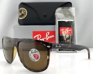 17aa5ea04a2 Image is loading Ray-Ban-RB4147-Sunglasses-Tortoise-Brown-Brown-Polarized-