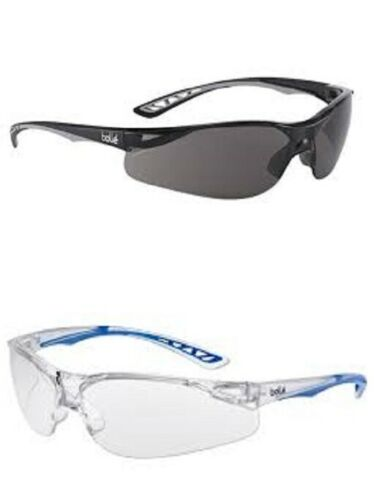 narrow faces Bolle ILUKA anti-scratch anti-fog safety glasses specs spectacles