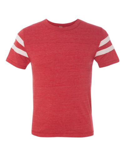 12150 Alternative Apparel Men/'s S-2XL Eco Jersey Football Short Sleeve T-shirt