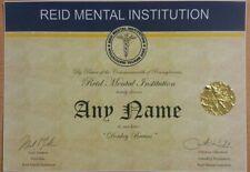 It's Always Sunny In Philadelphia Certificate