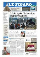 Le Figaro 24.10.2016 N°22458*CALAIS*POLICE*AT&T rachète TIME WARNER*LIBAN*ESPAGN