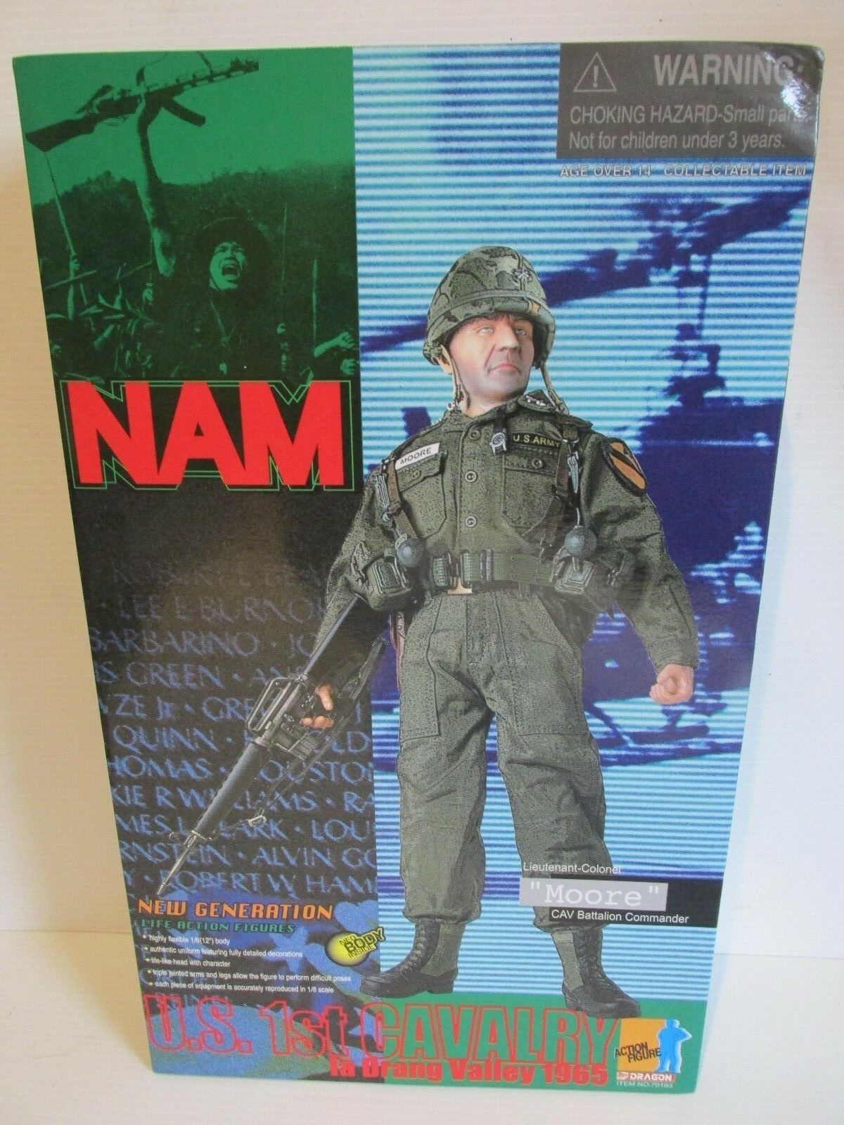 Dragon Side show 1 6TH scale figures NAM U.S 1ST CAVALRY  MOORE
