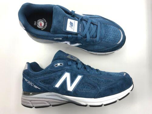 Kids New Balance KJ 990 T0G v4 Teal running walking shoes grade school vtg
