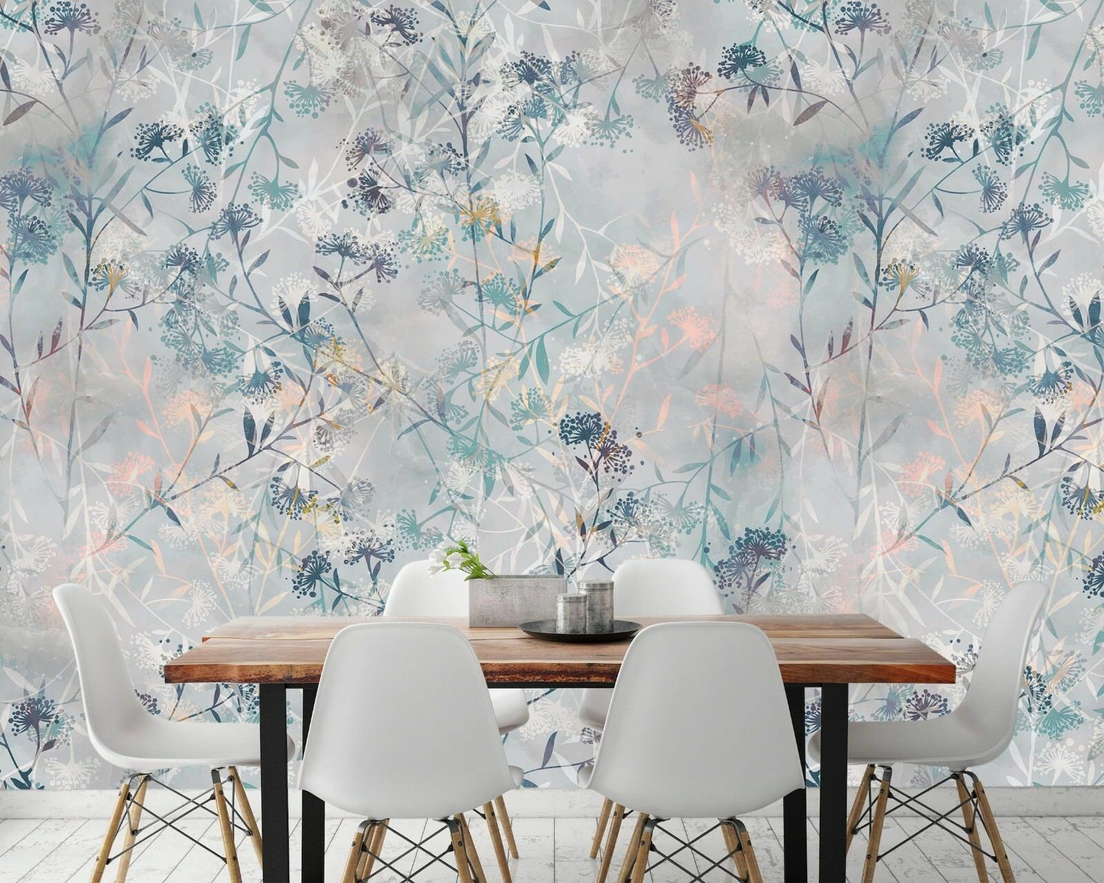 3D Misty Plant Garden 564 Wall Paper Wall Print Decal Deco Indoor Wall Mural CA