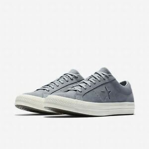 e7598e7dec6b CONVERSE ONE STAR OX CT ALL STAR SUEDE LOW MEN SHOES ELEPHANT ...