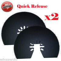 2 Multi Tool Saw Blade For Rockwell Hyperlock Rk5140k Shopseries Rk5139k Bosch
