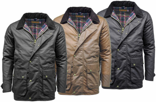 New Mens Game Winchester Padded Warm Winter Protected Antique Wax Jacket Coat