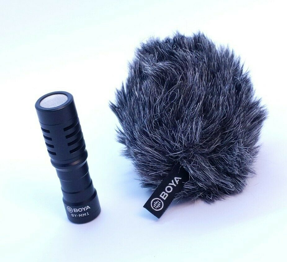 BOYA BY-MM1 3.5mm Microphone Pocket Video Mic For DSLR Camera - New Unboxed