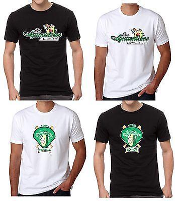 Fan Apparel & Souvenirs Honey Aguacateros De Michoacan Men's T-shirt Crew Neck 100% Cotton Black & White Large Assortment