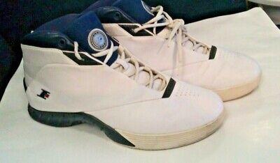 Reebok I3 Men's Answer Allen Iverson Basketball Shoes SZ 12 White 4 99655 Philly | eBay