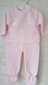 d487cceaaa3e9 Image is loading Spanish-Style-Beautiful-Baby-Girl-Pink-Knitted-2-